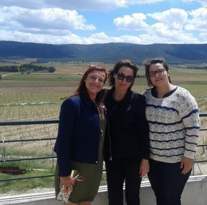 Con Cintia y Marichel en La Toscana Valenciana