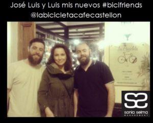 Jose Luis y Luis mis nuevos bicifriends para blog con logo