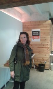 Sonia en Creative Morning VLC
