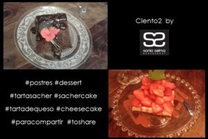 los postres de Ciento2 by Sonia Selma