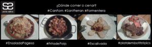 Mix Can Forn cena sábado 16052015 donde comer o cenar