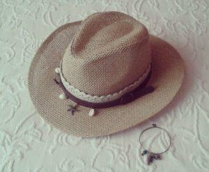 sombrero de rafia by muahvioleta