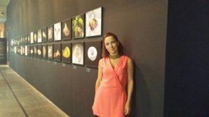 Sonia Selma en exposición Quique Dacosta en MuVIM