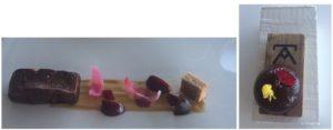Foie gras cebolletas y cerezas Sonia Selma en Azurmendi