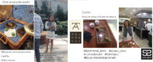 Mix Sonia Selma en Azurmendi Eneko Atxa Bizcaia picnic y hojas de setas