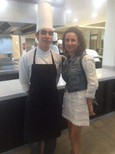 Sonia Selma y Carles en la cocina de Azurmendi 18082015