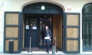 8. Sonia Selma en Hoja Santa 03102015 Barcelona