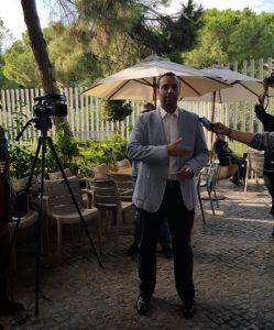 David Izquierdo presenta a los medios