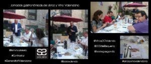 Jornadas Gastronomicas del Arroz y Vino Valenciano by Sonia Selma