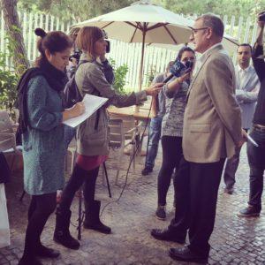 Juan Carlos Gelabert presenta a los medios