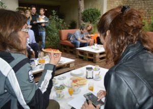 Sonia Selma contribuyendo a la difusión de las bondades gastro valencianas