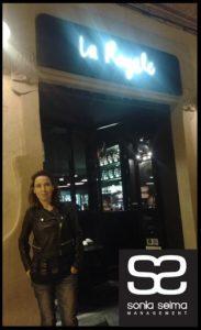 Sonia Selma en laroyalebcn Barcelona Octubre 2015