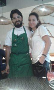 Sonia Selma y Paco Mendez Hoja Santa Barcelona 03102015