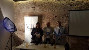 Carmen Ibañez Pepe Palacios David Izquierdo presentación Guía VlcGastro by Sonia Selma