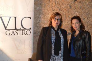 Con Carmen Ibañez AgV Turismo presentación vlc gastro