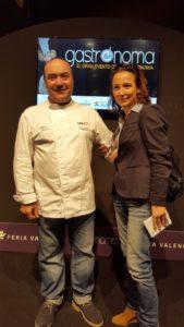 Miguel Barrera Sonia Selma en Gastrónoma 2015