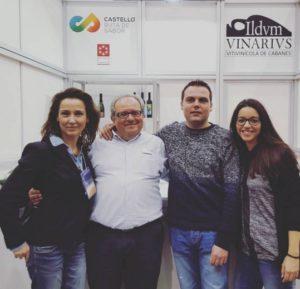 Vicente Flors Sonia Selma Andrea Mario Sumiller Andrea gastrónoma 2015
