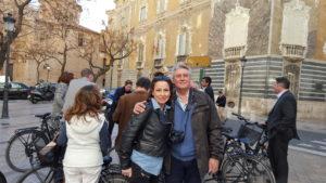1. Sonia Selma y el consul Holandés en Vlc Eric Nolte