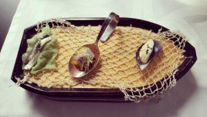 Nuestra barca artesana de los pica-pica del mar Sonia Selma en Rte Raúl Resino