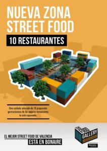 10 restaurantes en the food gallery