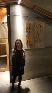 Sonia Selma en Nozomi Sushi Bar