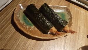 Cono de langostino con mayonesa japonesa Sonia Selma Nozomi
