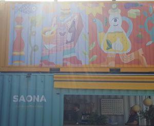 Saona en the food gallery