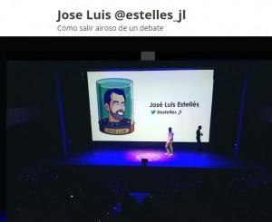 José Luis Estelles como salir airoso de un debate
