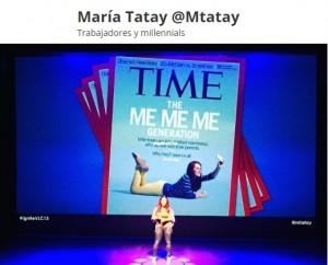 María Tatay Millennials