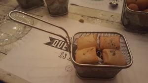 Raviolis rellenos de queso Sonia Selma en el almacen NCR 18072016