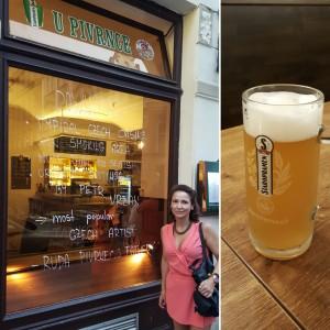 Cerveza checa en Pivrnce Praga