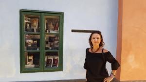 Sonia Selma en Callejon del oro Castillo Praga Ago16