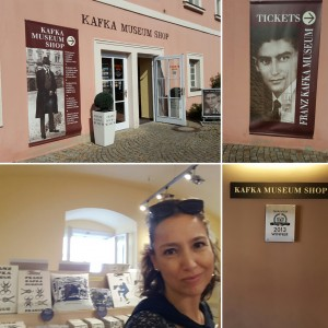 Sonia Selma en Museo Kafka Praga Ago16 3