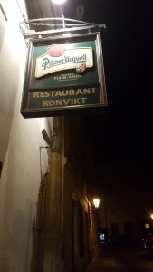 Cerveza en Konvit Restaurant Sonia Selma en Praga Ago16 1