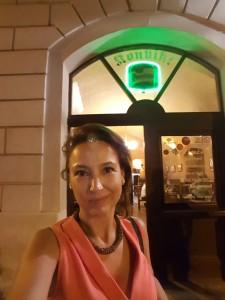 Cerveza en Konvit Restaurant Sonia Selma en Praga Ago16