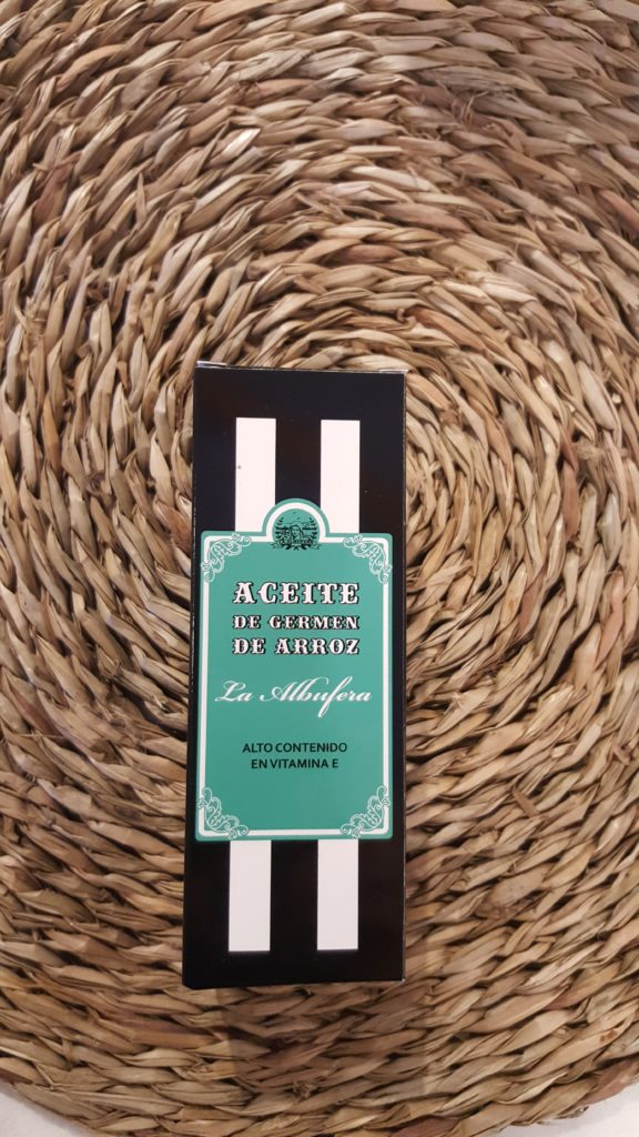 Aceite de germen de arroz Albufera cosméticos