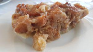 Postres de los menús de los platos de cuchara