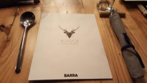 Carta Barra Restaurante Karak
